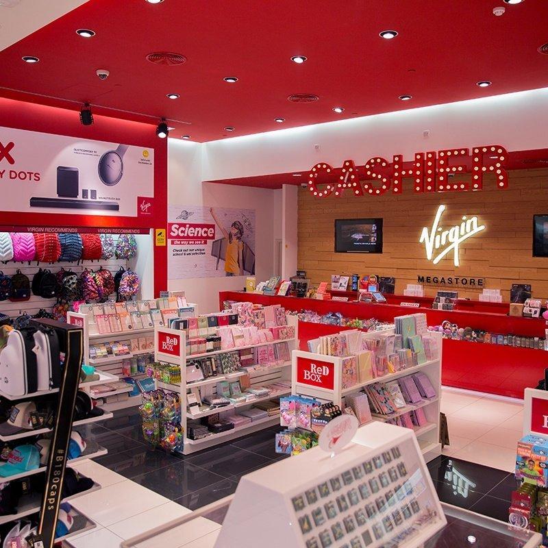 Virgin Megastore Mercato Shopping Mall