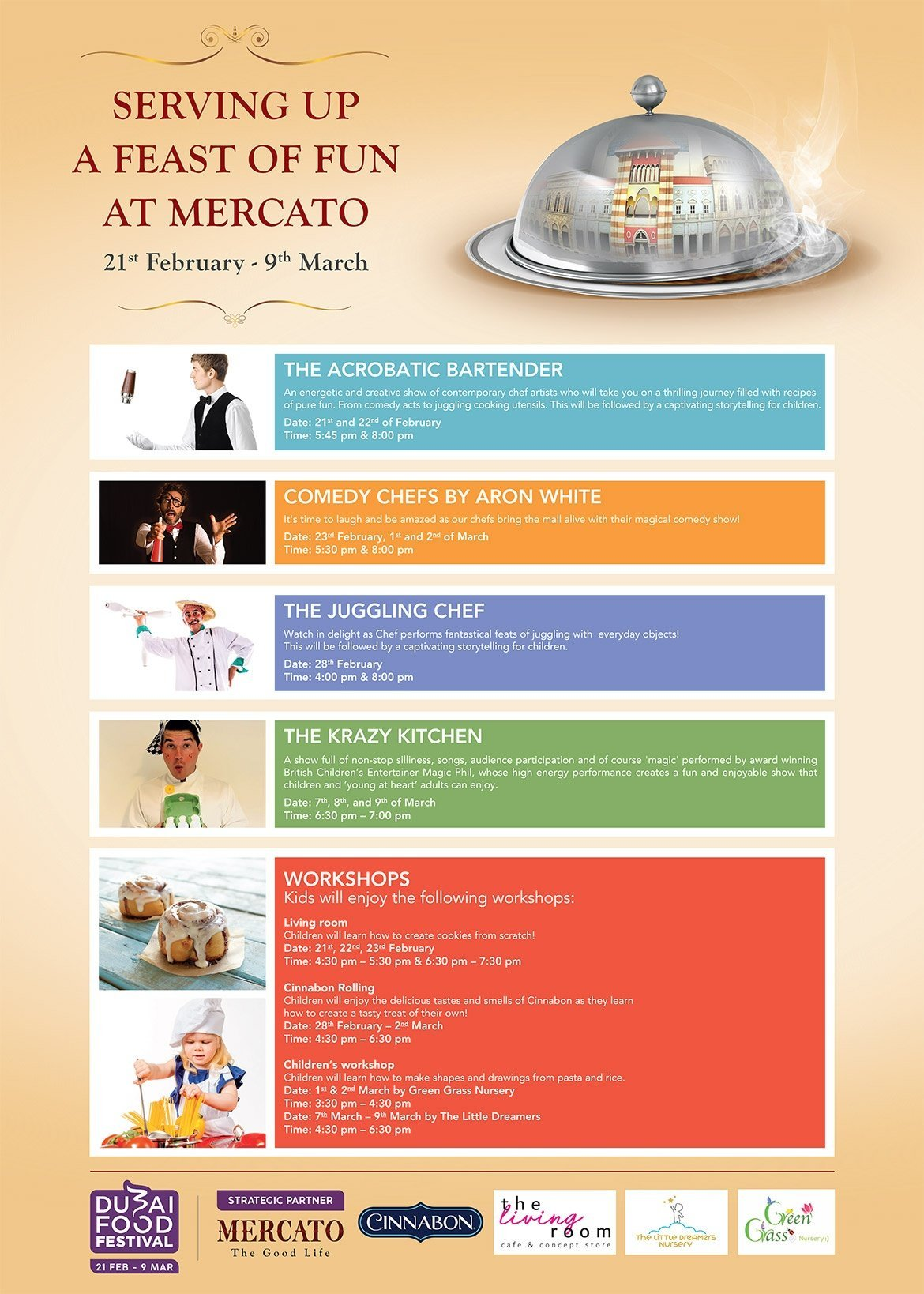 Dubai Food Festival | Mercato Shopping Mall