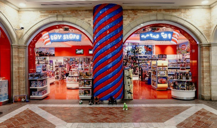 the toy store mercato mall